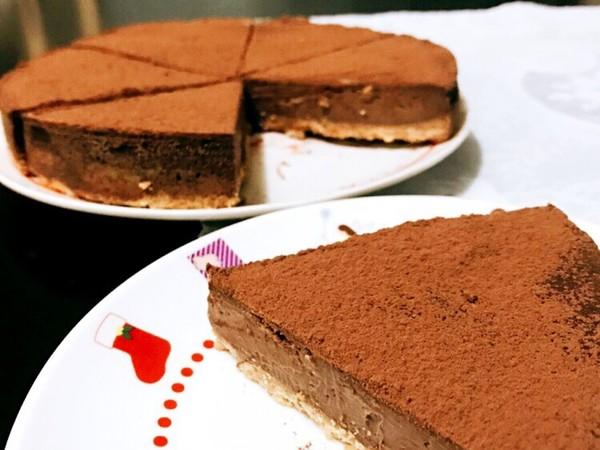 簡単濃厚♡生チョコタルト
