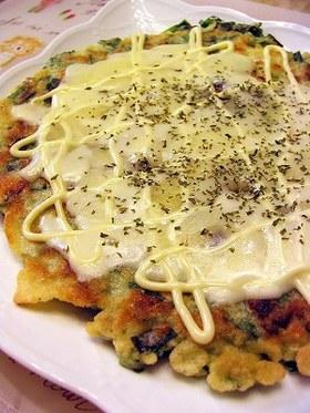 Pizza風海鮮チヂミ