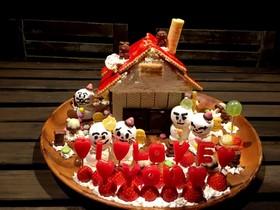 アンパンマンのパン工場   お菓子の家