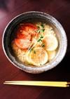インスタントラーメンアレンジ○塩レモン