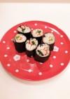 ❁こども向け♡かにかまと小松菜の細巻き❁