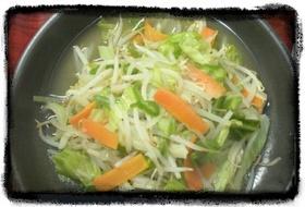 ノンオイル野菜炒め