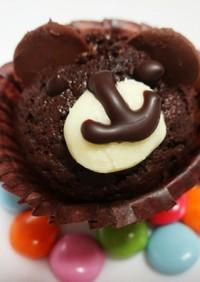 くまのカップケーキ