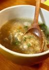有機野菜クズで作る鳩麦bioスープ