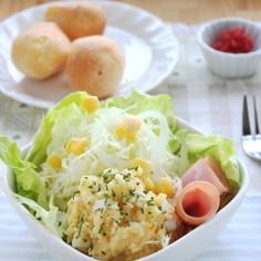 レンジで簡単!シンプルなポテトサラダ
