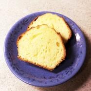 プレーンパウンドケーキ
