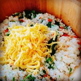 薬膳☆菜の花と酒の混ぜ寿司