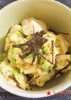 ラーメンスープの残り★簡単お豆腐卵とじ丼