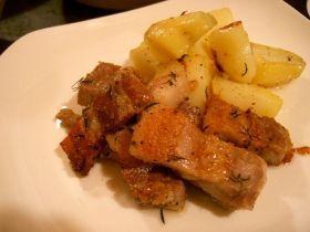 豚バラ肉のロースト