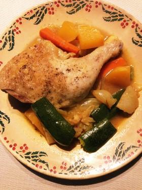 Staubで簡単 鶏肉のタジン