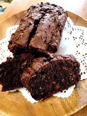 発酵バターとキンカンのパウンドケーキ