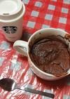 チョコプロテイン蒸しパン(+ヨーグルト)