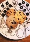 米粉と小麦粉シュトーレン風クッキー
