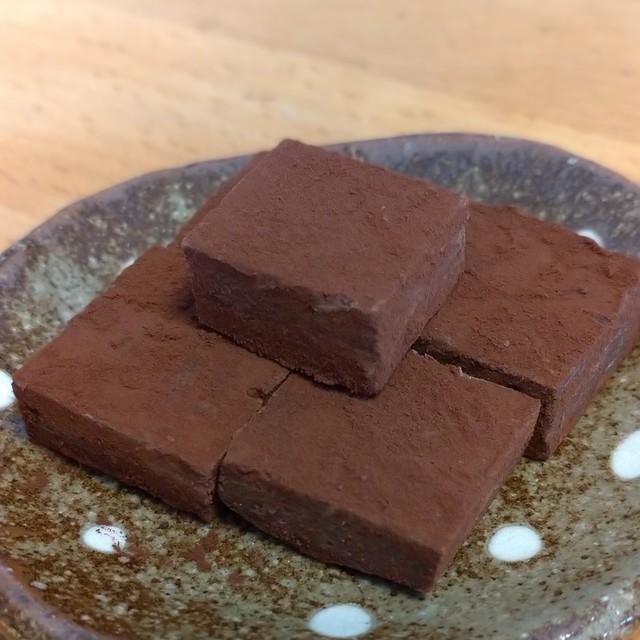 チョコ レシピ 生