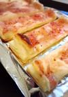 クリームチーズと苺ジャムでスティックパイ