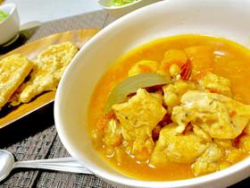 イタリアの田舎風煮込み☆鶏と大豆のスープ