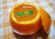 懐かしいオレンジゼリー