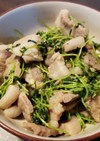 豚肉の豆苗炒め⭐焼き肉風味