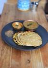 蕪のパラタ(平焼きパン)