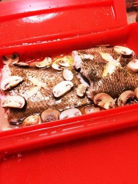 ルクエで簡単・白身魚のレモンバター蒸し