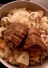 沖縄風炊き込みご飯・じゅーしーを作る実験