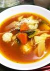 鶏団子入りトマトスープ♡