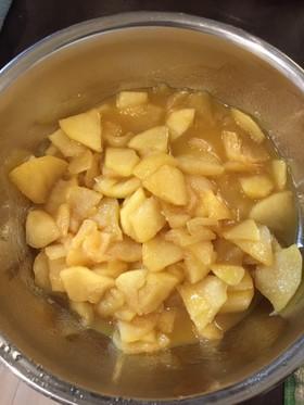 りんごのバター煮