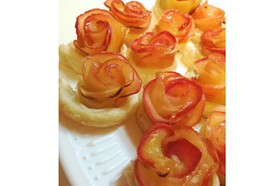 インスタ映え♡薔薇のアップルパイ