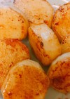 【簡単】山芋のほっこりバター醤油焼き
