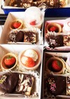 ハートのプチチョコケーキ♡簡単♪