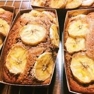チョコとバナナ パウンドケーキ♪