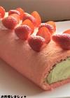 簡単★ひな祭りロールケーキ