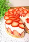 簡単♪イチゴムースケーキ
