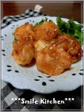 ✿お弁当に♡簡単♡えびのケチャップ炒め✿