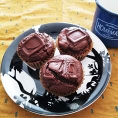 おから☆HM☆簡単☆チョコカップケーキ