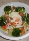 温野菜deシーザーサラダ