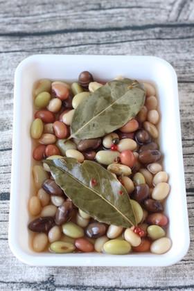 ミックス豆の洋風マリネ