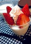 レンジde豆乳クリームチーズ牛乳プリン