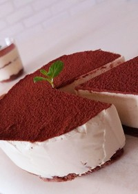 ティラミス風 濃厚レアチーズケーキ