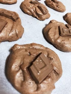 【簡単オシャレ!】手抜きチョコクッキー