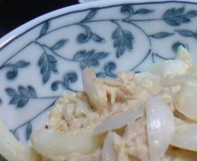 新たまねぎとツナのサラダ
