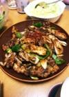 厚切り豚ロースの甜麺醤炒め