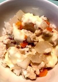 鶏ひき肉と野菜のチーズドリア 幼児食