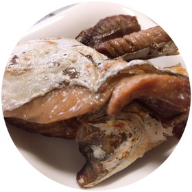 宗田カツオ(スマカツオ)の腹塩焼き 簡単