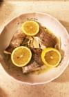 白身魚とキノコのレモンバター蒸し