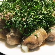 コストコの豚肉で豚もちロール