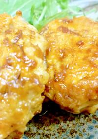 鶏むね肉で作る!しゃきしゃき牛蒡の鶏団子