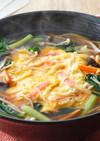 野菜たっぷり天津ラーメン