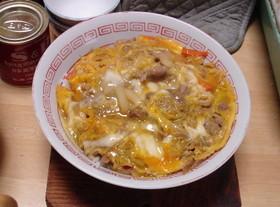 西日本の味?! すき焼きのたれ味で他人丼