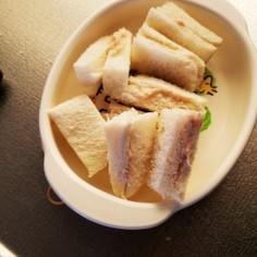 離乳食後期☆ツナサンドイッチ